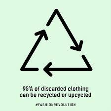 El 95% de la ropa descartada puede ser reciclada o reutilizada
