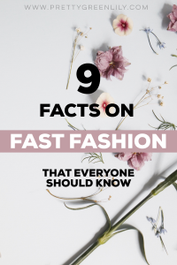 fast fashion facts