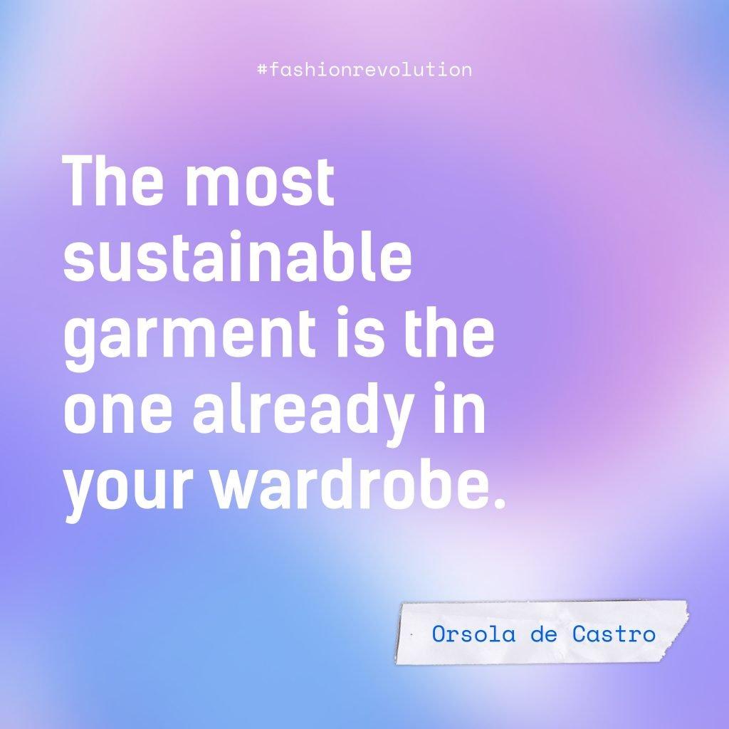 La prenda más sostenible es la que ya está en tu armario - Orsola de Castro
