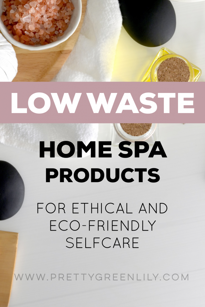 low waste selfcare products at home