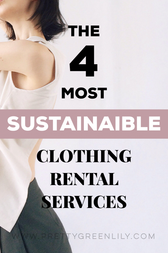 sustainable clothing rental services