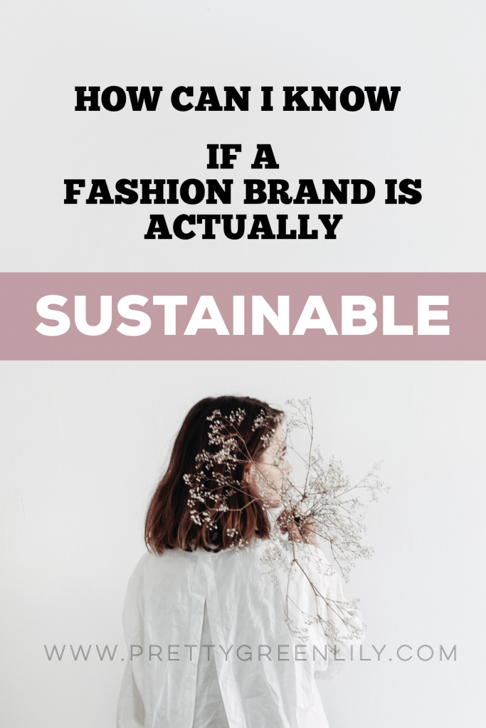 how to know if a brand is sustainable