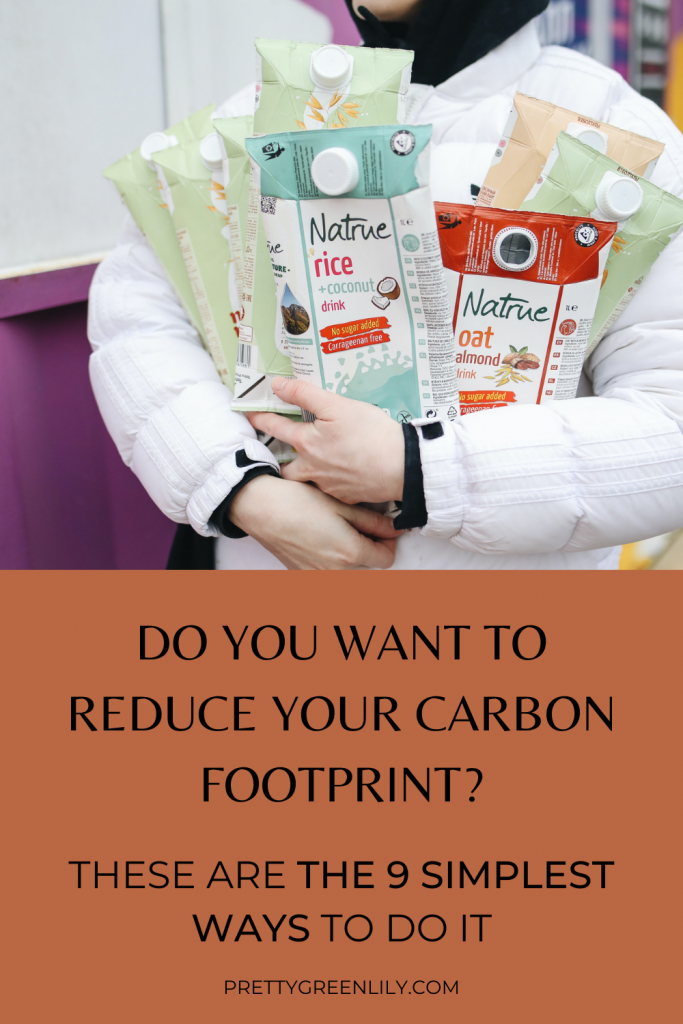 simple changes to reduce your carbon footprint