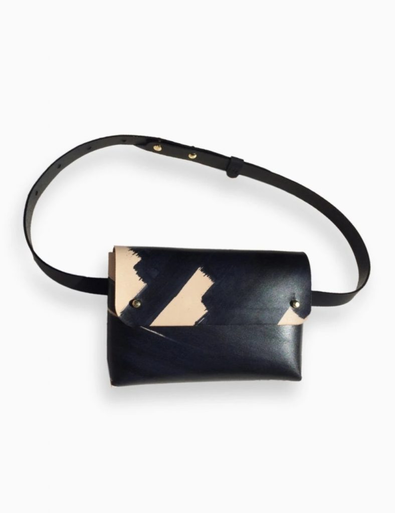 Kles Sophia Ink-Brushed Belt Bag