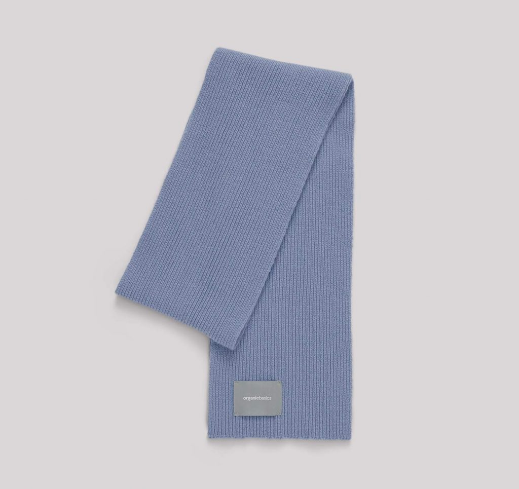 Organic Basics Recycled Wool Rib Scarf