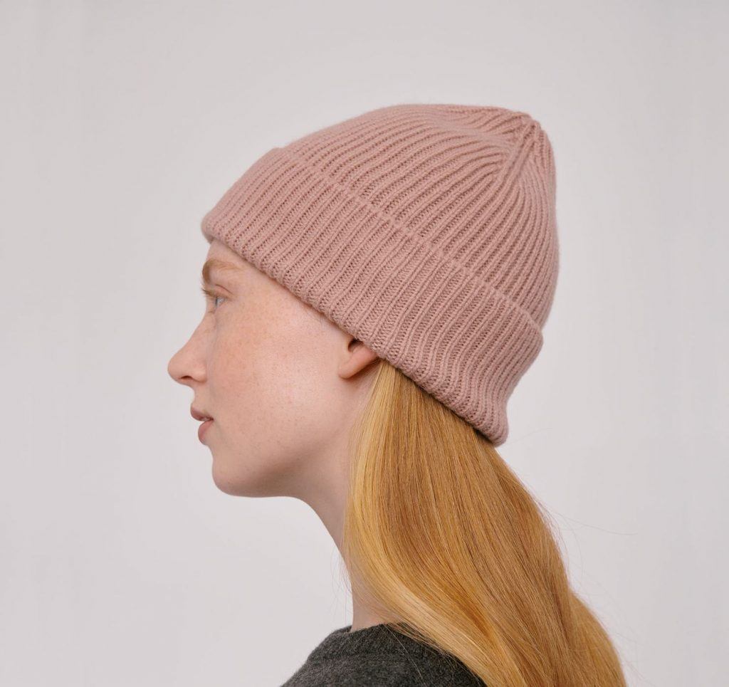 Organic Basics Recycled Wool Beanie
