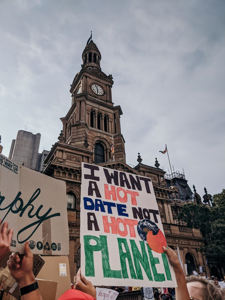 why climate action is urgent - i want a hot date not a hot planet